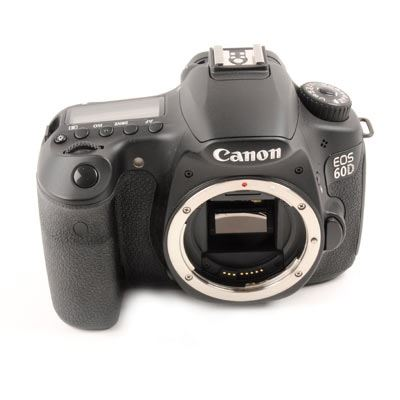 Used Canon EOS 60D Digital SLR Camera Body