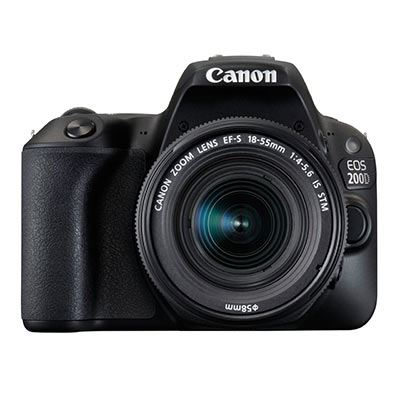 Image of Canon EOS 200D Digital SLR Camera with 18-55mm IS STM Lens