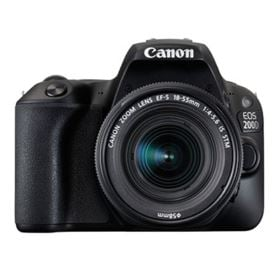 Canon EOS 200D Digital SLR Camera with 18-55mm IS STM Lens