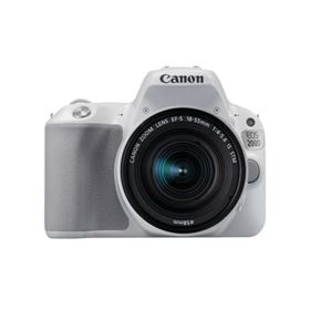 Canon EOS 200D Digital SLR Camera with 18-55mm IS STM Lens - White
