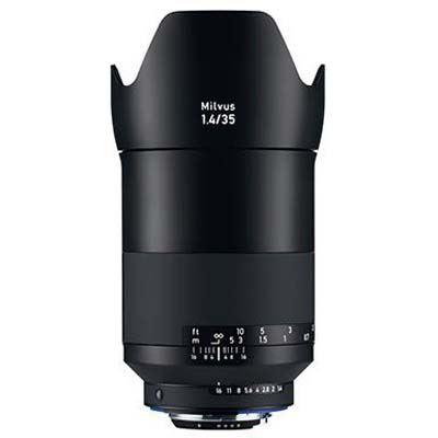 Zeiss 35mm f1.4 Milvus ZF.2 Lens - Nikon F Mount