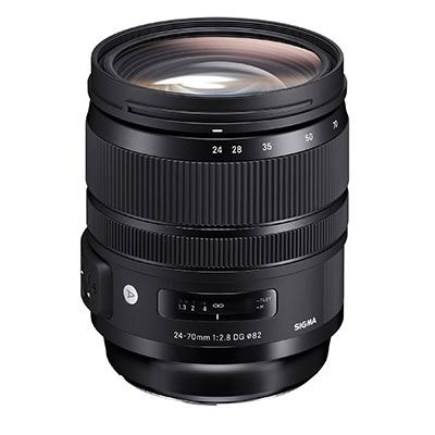 Sigma 24-70mm F2.8 DG OS HSM Art Lens – Canon Fit