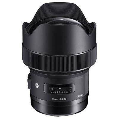 Sigma 14mm F1.8 DG HSM Art Lens – Canon Fit