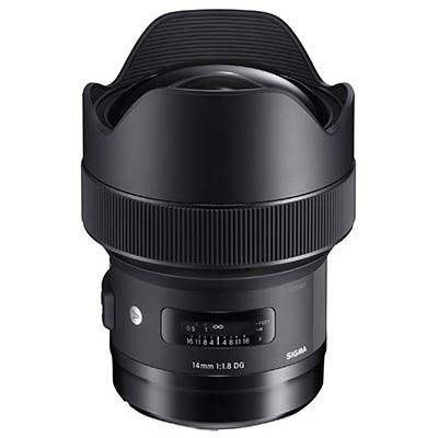 Sigma 14mm f1.8 DG HSM Art Lens - Nikon Fit