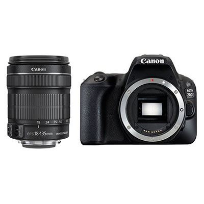 Canon EOS 200D with 18-135mm IS STM Lens