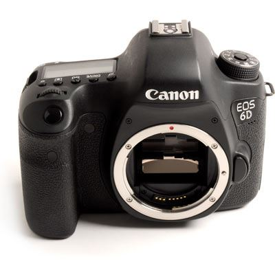Used Canon EOS 6D Digital SLR Camera Body