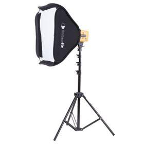 Interfit Honey Badger Single Head Softbox Kit