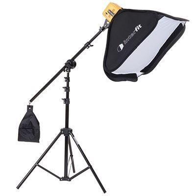 Interfit Honey Badger Single Head Softbox and Boom Arm Kit