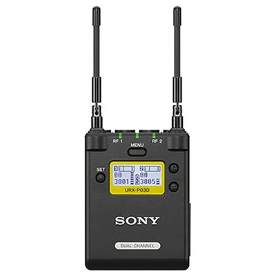 Sony URX-P03D/K33 UWP-D Portable 2-Channel Receiver