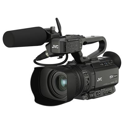 Used JVC GY-HM200E 4K Camcorder