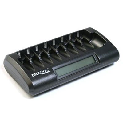 Image of Calumet Prospec International 8 Slot Battery Charger