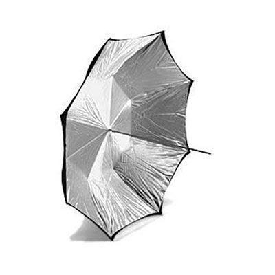Calumet Silver / White Umbrella - 152cm