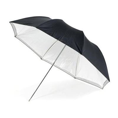 Calumet Silver / White Umbrella - 117cm