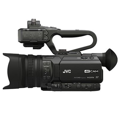 Image of JVC GY-HM170E Compact 4KCAM Handheld Camcorder