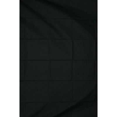 Calumet 3 x 3.6m (10 x 12ft) Black Muslin Background