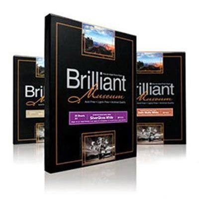 Brilliant Museum Sample Pack A4 8 Sheets