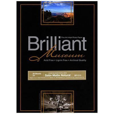 Image of Brilliant Museum Satin Matte Natural A4 25 Sheets