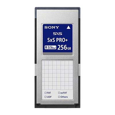 Sony 256GB SxS Pro+ Read 3.5GB/s Write 2.8GB/s