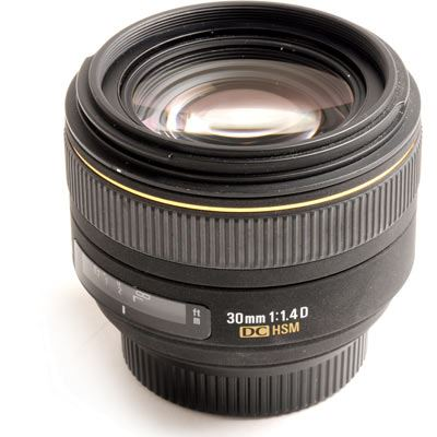 Used Sigma 30mm f1.4 EX DC HSM Lens - Nikon Fit