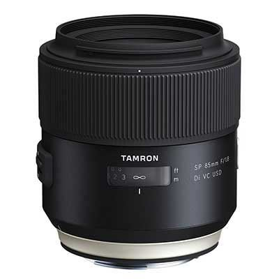 Tamron 85mm f1.8 SP Di VC USD Lens - Sony Fit