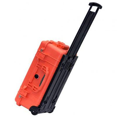 Peli 1510 Carry On Case with Dividers - Orange
