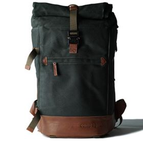 Used Compagnon The Backpack - Green / Brown