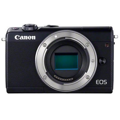 Image of Canon EOS M100 Digital Camera Body Black
