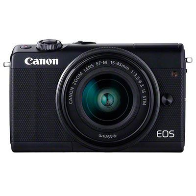 Image of Canon EOS M100 Digital Camera + 15-45 Limited Edition Black