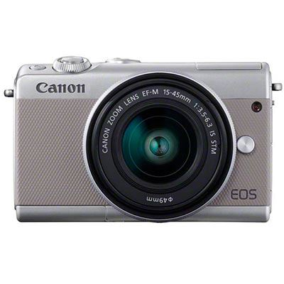 Image of Canon EOS M100 Digital Camera + 15-45 Limited Edition Grey