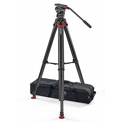 Sachtler Flowtech 75 with FSB 8 T Fluid Head Carbon Fibre Video Tripod System