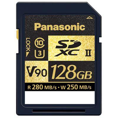 Panasonic 128GB SDXC 280MB/s(Read) 250MB/s(Write) V90 Card