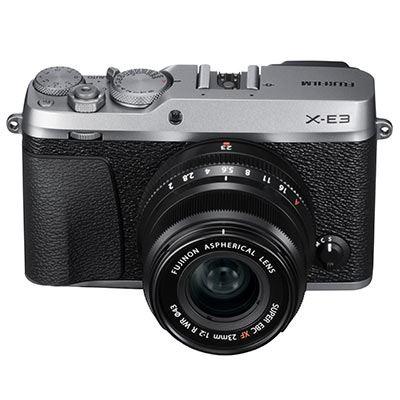Fujifilm X-E3 Digital Camera with 23mm Lens - Silver