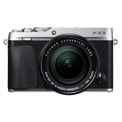Fujifilm X-E3 Digital Camera with 18-55mm Lens - Silver