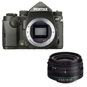 Pentax KP Digital Camera with 18-50mm Lens - Black