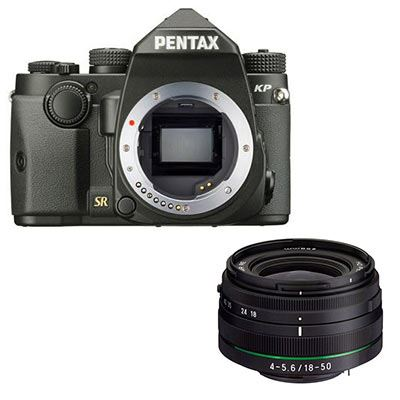 Pentax KP Digital Camera with 18-50mm Lens - Black