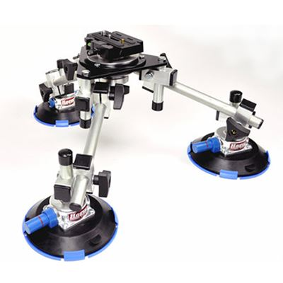Image of Hague SM3 Pro Camera Suction Mount Kit For Cars
