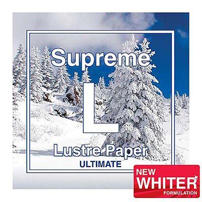 Brilliant Supreme Inkjet Paper A2 25 sheets - Ultimate Lustre