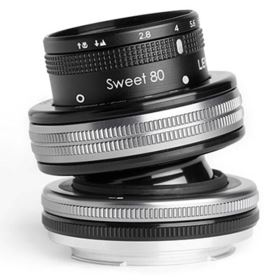 Lensbaby Composer Pro II with Sweet 80 Optic - Canon