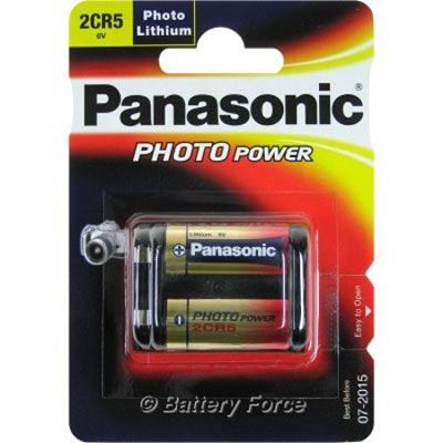 Image of Panasonic 2CR5 Lithium
