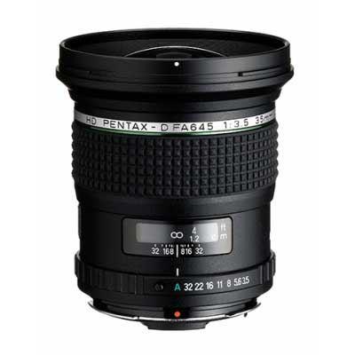 Pentax 35mm F3.5 AL IF HD 645 Mount Lens