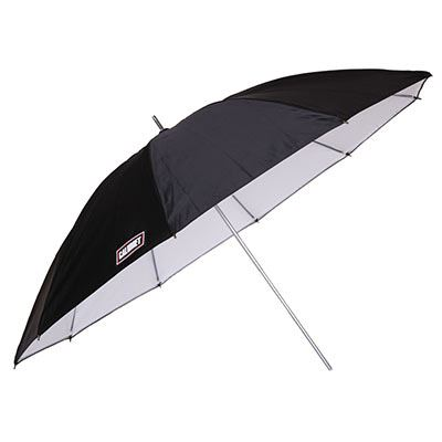 Image of Calumet 36inch (90cm) Silver/White Umbrella