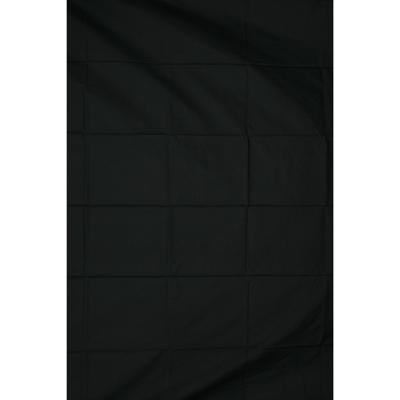 Calumet 3 x 7.2m (10 x 24ft) Black Muslin Background