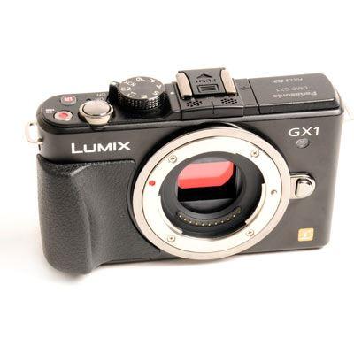 Used Panasonic LUMIX DMC-GX1 Black Digital Camera Body