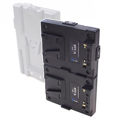 Image of Hawk-Woods VL-MCF1 Mini V-Lok Hotswap Camera Fitting