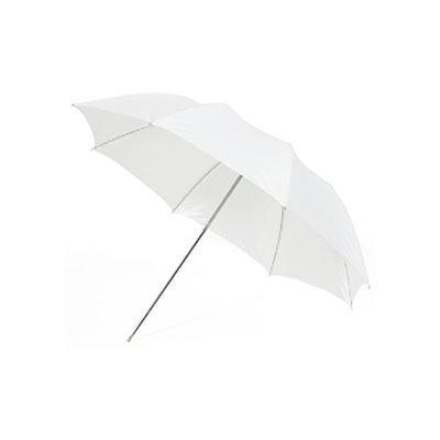 Calumet Satin White Compact Umbrella - 109cm