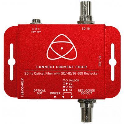 Image of Atomos Connect Convert Fiber - SDI to Fiber
