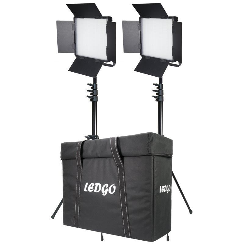 Image of Ledgo Two Light 600 Bi-Colour Location Lighting Kit