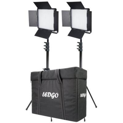 Ledgo Two Light 600 Bi-Colour Location Lighting Kit
