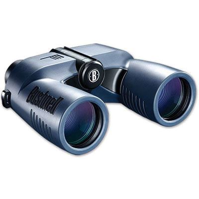 Used Bushnell BN137570 7x50 Binoculars with Porro prism,digital compass - Marine Blue