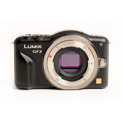 Used Panasonic Lumix DMC-GF3 Black Body